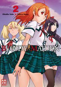 Hier klicken, um das Cover von Bloody Maiden 2 zu vergrößern