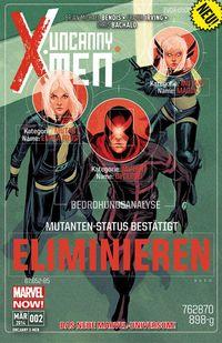 Hier klicken, um das Cover von Uncanny X-Men 2 zu vergrößern