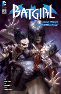 Hier klicken, um das Cover von Batgirl 4  zu vergrößern
