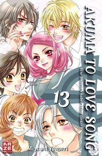 Hier klicken, um das Cover von Akuma to Love Song 13 zu vergrößern