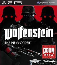 Hier klicken, um das Cover von Wolfenstein : The New Order (PS3) zu vergrößern
