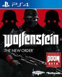 Hier klicken, um das Cover von Wolfenstein : The New Order (PS4) zu vergrößern
