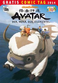 Hier klicken, um das Cover von Avatar - Der Herr der Elemente - Gratis Comic Tag 2014 zu vergrößern