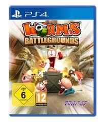 Hier klicken, um das Cover von Worms Battlegrounds (PS4) zu vergrößern