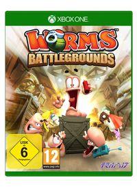 Hier klicken, um das Cover von Worms Battlegrounds (Xbox One) zu vergrößern