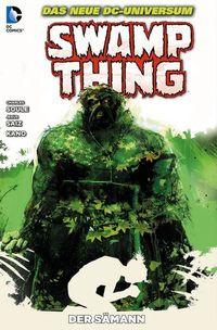 Hier klicken, um das Cover von Swamp Thing 4: Der Sae~mann zu vergrößern