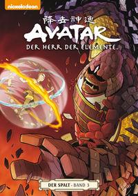 Hier klicken, um das Cover von Avatar – Der Herr der Elemente 10: Avatar: Der Herr der Elemente Comicband 10 Der Spalt 3 zu vergrößern