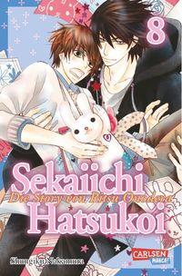 Hier klicken, um das Cover von Sekaiichi Hatsukoi 8 zu vergrößern