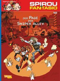 Hier klicken, um das Cover von Spirou und Fantasio 52: Der Page der Sniper Alley zu vergrößern