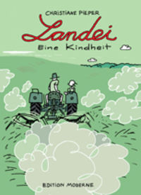 Hier klicken, um das Cover von Landei. Eine Kindheit zu vergrößern