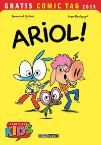 Hier klicken, um das Cover von Ariol! - Gratis Comic Tag 2015 zu vergrößern