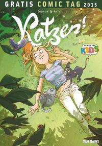 Hier klicken, um das Cover von Katzen! - Gratis Comic Tag 2015 zu vergrößern