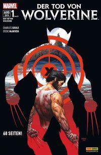 Hier klicken, um das Cover von Der Tod von Wolverine zu vergrößern