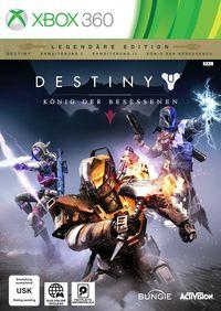 Hier klicken, um das Cover von Destiny - Koe~nig der Besessenen (XBox 360) zu vergrößern