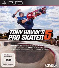 Hier klicken, um das Cover von Tony Hawk's Pro Skater 5 (PS3) zu vergrößern