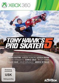 Hier klicken, um das Cover von Tony Hawk's Pro Skater 5 (Xbox 360) zu vergrößern