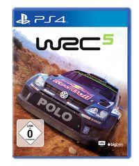 Hier klicken, um das Cover von WRC 5 (PS4) zu vergrößern
