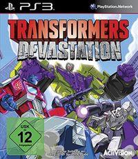 Hier klicken, um das Cover von Transformers Devastation (PS3) zu vergrößern