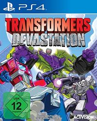 Hier klicken, um das Cover von Transformers Devastation (PS4) zu vergrößern