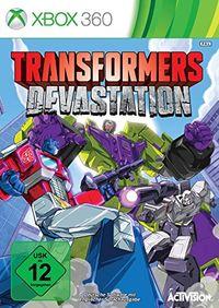 Hier klicken, um das Cover von Transformers Devastation (Xbox 360) zu vergrößern