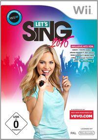 Hier klicken, um das Cover von Let's Sing 2016 (Wii) zu vergrößern