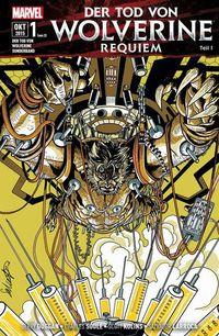 Hier klicken, um das Cover von Der Tod von Wolverine Requiem 1 zu vergrößern