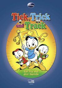 Hier klicken, um das Cover von Tick, Trick und Track: Ein Trio mit drei Bue~rzeln zu vergrößern