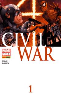 Hier klicken, um das Cover von Civil War 1 zu vergrößern