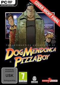 Hier klicken, um das Cover von Dog Mendonça & Pizza Boy: The interactive Adventures (PC) zu vergrößern