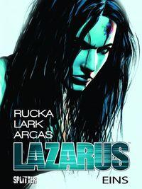 Hier klicken, um das Cover von Lazarus 1: Die Macht der Familien zu vergrößern
