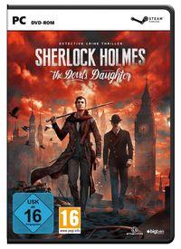 Hier klicken, um das Cover von Sherlock Holmes - The Devil's Daughter (PC) zu vergrößern