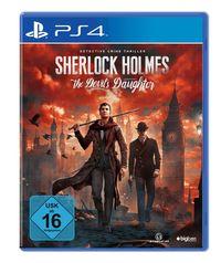 Hier klicken, um das Cover von Sherlock Holmes - The Devil's Daughter (PS4) zu vergrößern