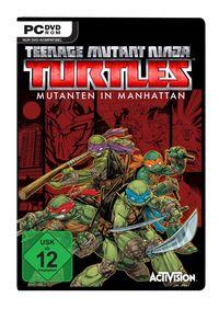 Hier klicken, um das Cover von Teenage Mutant Ninja Turtles: Mutanten in Manhattan (PC) zu vergrößern