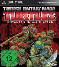 Hier klicken, um das Cover von Teenage Mutant Ninja Turtles: Mutanten in Manhattan (PS3) zu vergrößern