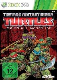 Hier klicken, um das Cover von Teenage Mutant Ninja Turtles: Mutanten in Manhattan (Xbox 360) zu vergrößern