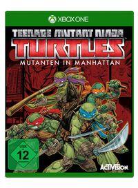 Hier klicken, um das Cover von Teenage Mutant Ninja Turtles: Mutanten in Manhattan (Xbox One) zu vergrößern