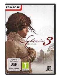 Hier klicken, um das Cover von Syberia 3 (PC) zu vergrößern