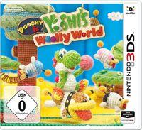 Hier klicken, um das Cover von Poochy & Yoshi's Woolly World (3DS) zu vergrößern
