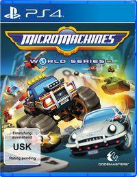 Hier klicken, um das Cover von Micro Machines World Series (PS4) zu vergrößern