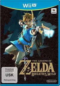 Hier klicken, um das Cover von The Legend of Zelda: Breath of the Wild (Wii U) zu vergrößern