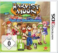 Hier klicken, um das Cover von Harvest Moon: Dorf des Himmelsbaumes (3DS) zu vergrößern