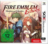 Hier klicken, um das Cover von Fire Emblem Echoes: Shadows of Valentia (3DS) zu vergrößern