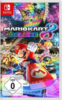 Hier klicken, um das Cover von Mario Kart 8 Deluxe (Switch) zu vergrößern