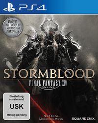 Hier klicken, um das Cover von FINAL FANTASY XIV: Stormblood - AddOn (Ps4) zu vergrößern