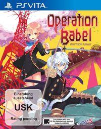 Hier klicken, um das Cover von Operation Babel - New Tokyo Legacy (PS Vita) zu vergrößern