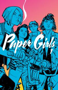 Hier klicken, um das Cover von Paper Girls 1 zu vergrößern