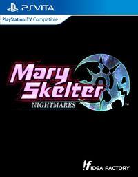 Hier klicken, um das Cover von Mary Skelter Nightmares (PS Vita) zu vergrößern