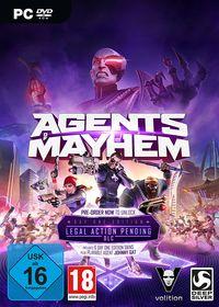 Hier klicken, um das Cover von Agents of Mayhem - Day One Edition (PC) zu vergrößern