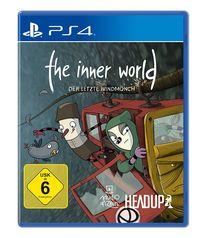Hier klicken, um das Cover von The Inner World - Der letzte Windmoe~nch (PS4) zu vergrößern