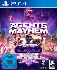 Hier klicken, um das Cover von Agents of Mayhem - Day One Edition (PS4) zu vergrößern